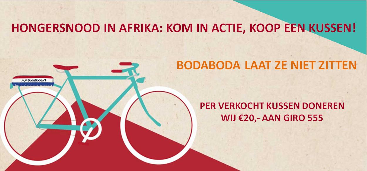 BodaBoda actie voor GIRO 555!